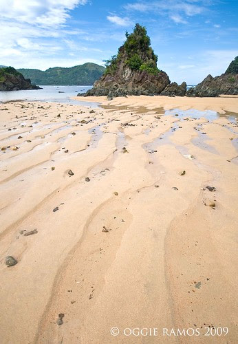 puraran karst and sand patterns