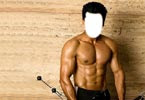 Surya with six-pack