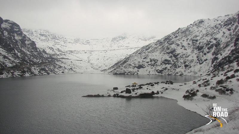 The High Altitude Tsomgo (Changu) lake at 12, 400 feet, East Sikkim, India