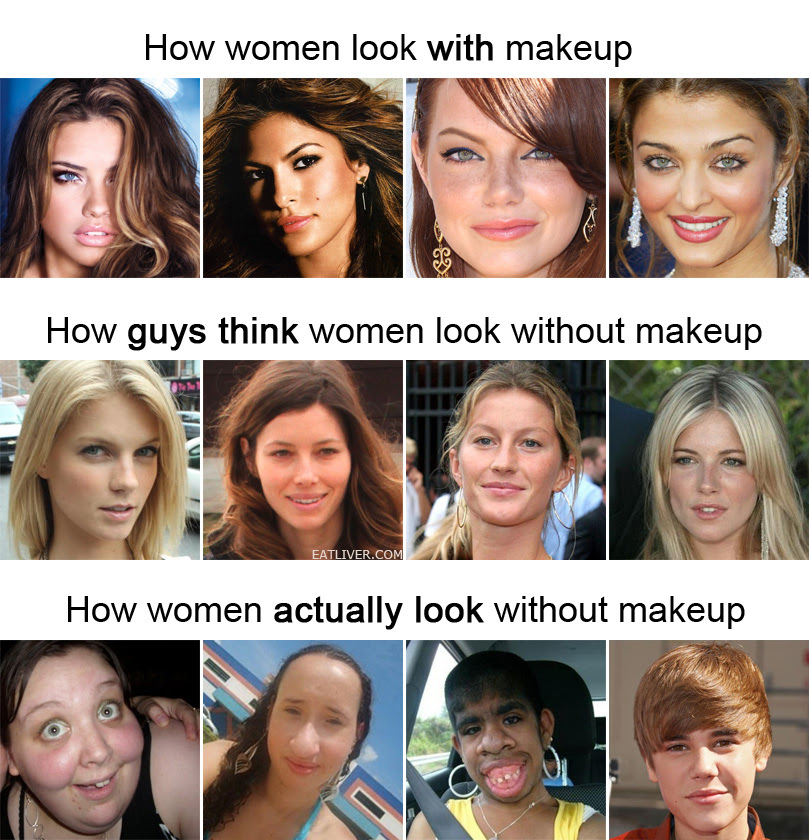 Quotes About Girl Without Makeup 20 Quotes