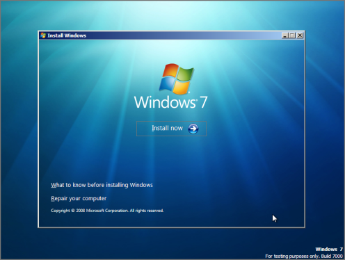 Window 7 Download