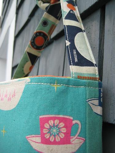 Hipster bag by Poppyprint