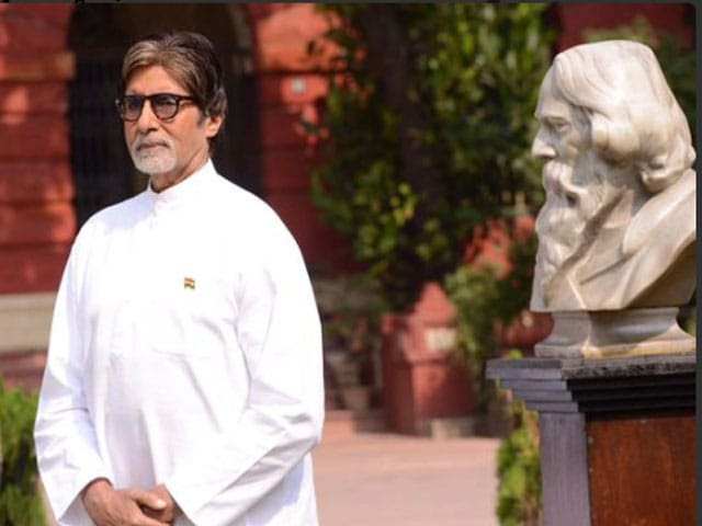 Amitabh Bachchan sings National Anthem of India