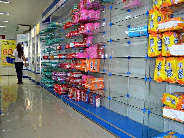 Farmácia Rio Branco (Foto: Yuri Marcel/G1)