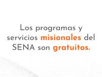 servicios SENA gratis