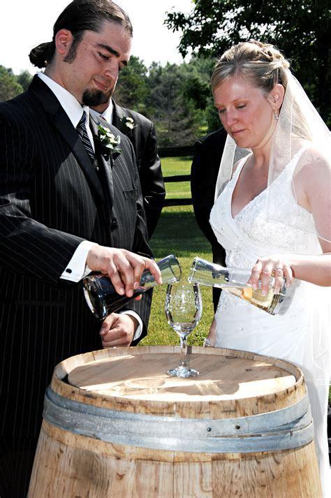 Wine Ceremony :: Ontario Wedding Ministers