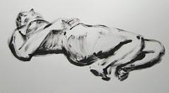 Thumb Drawings - Female Model