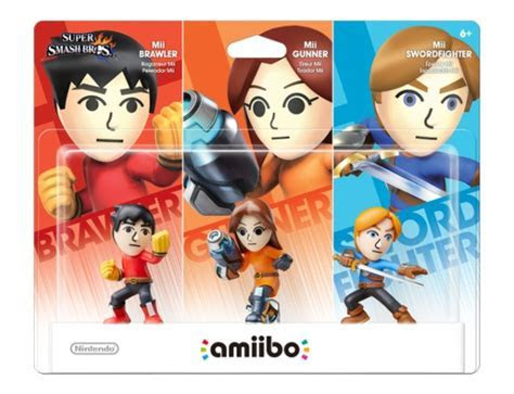 """Mii Fighters amiibo Triple Pack to Arrive as Toys """"R"""" Us"""