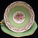 Foley Bone China Floral Teacup & Saucer