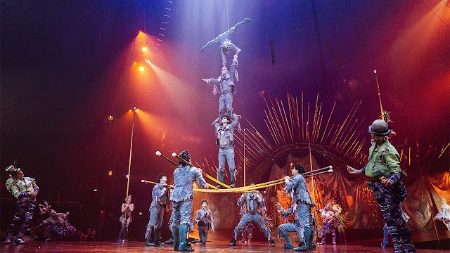 Cirque du Soleil files for bankruptcy protection