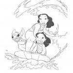 Imagenes Para Colorear De Lilo Y Stitch