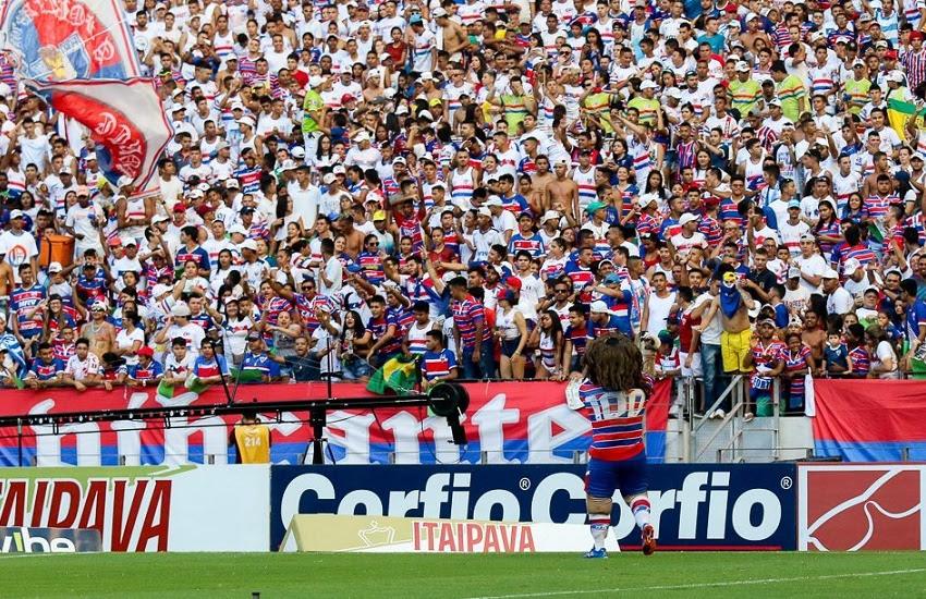 Fortaleza possui a melhor média de publico da Série B (FOTO: Pedro Chaves/FCF)