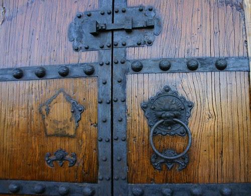 lion door