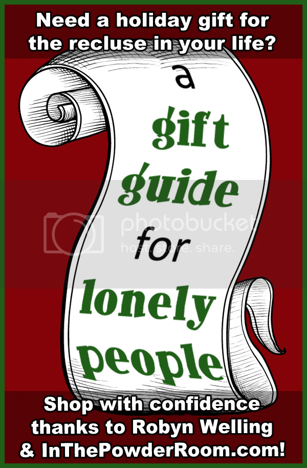 gift guide for lonely people by Robyn Welling @RobynHTV