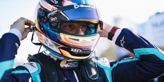 Romain Grosjean crashes Honda pace car at Laguna Seca while taping IndyCar video segment