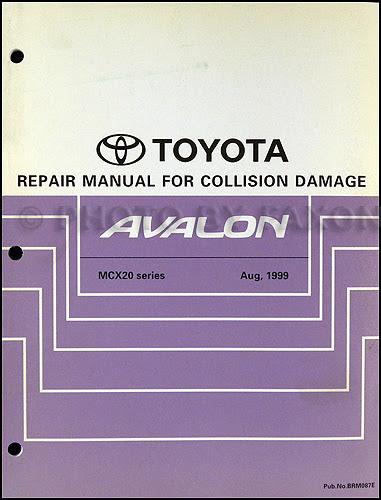 DIAGRAM 1997 Toyota Avalon Service Repair Shop Manual ...