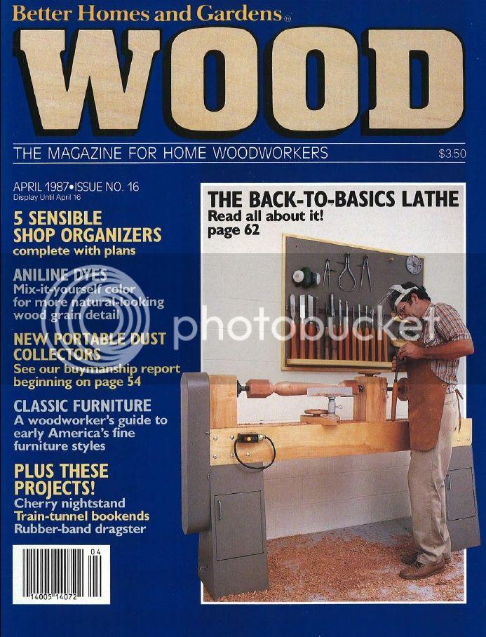 Wood Magazine Issue 16 April 1987