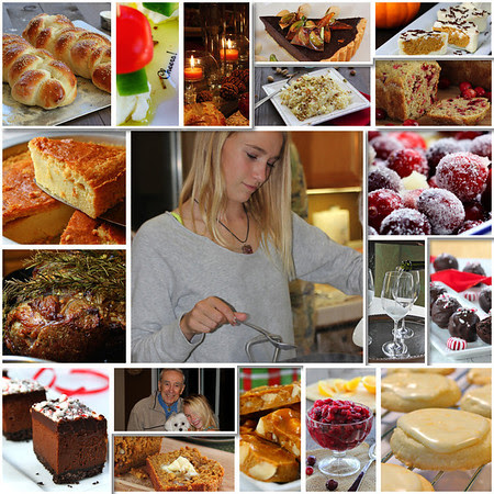 Holiday Food Collage