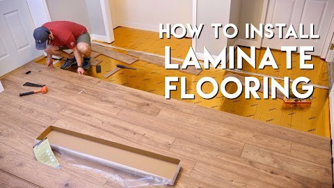 How To Install Laminate Floor Video