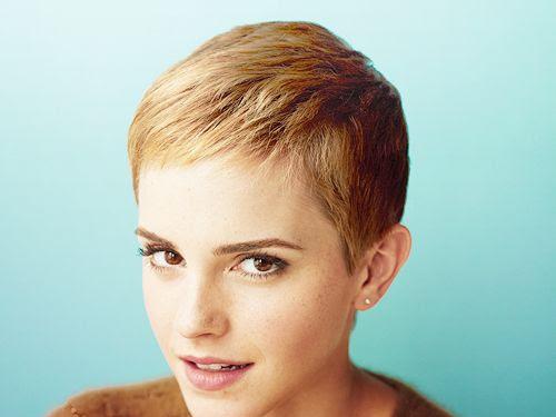 Pixie Haircut Emma Watson Short Hair
