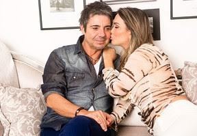 João Kleber e Eliana Amaral posam para o EGO (Foto: Iwi Onodera/EGO)
