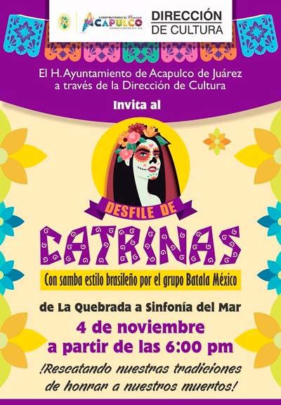 Desfile De Catrinas Aca Frases Acapulqueñas