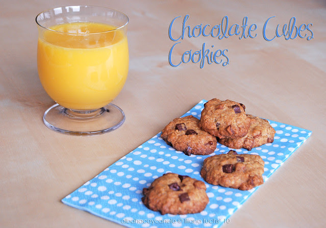 Chocolate cubes cookies