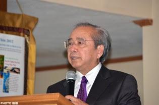 Giáo sư Võ Văn Ái nói về sự song hành Cứu Đạo của hai Ngài Tăng Thống Thích Huyền Quang và Thích Quảng Độ, Hình PTTPGQT