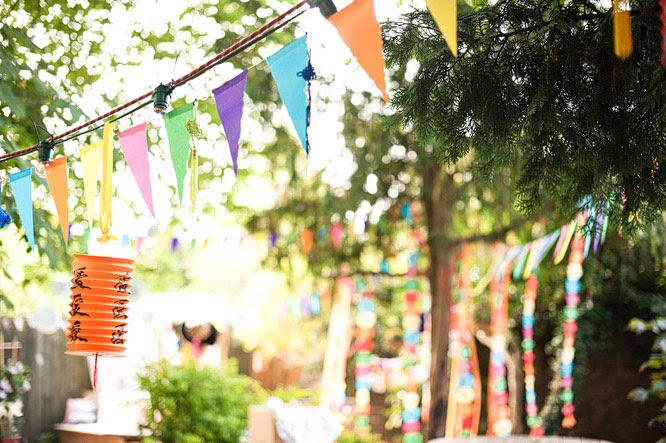 Gorgeous DIY party decoration ideas | Chickabug
