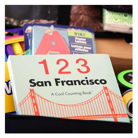 San Francisco Counting Activity Kit for Toddlers