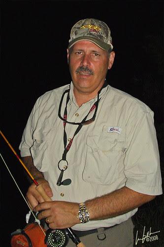 Joe Cornwall fishing Fairfield Lake #1 w/ Les Booth