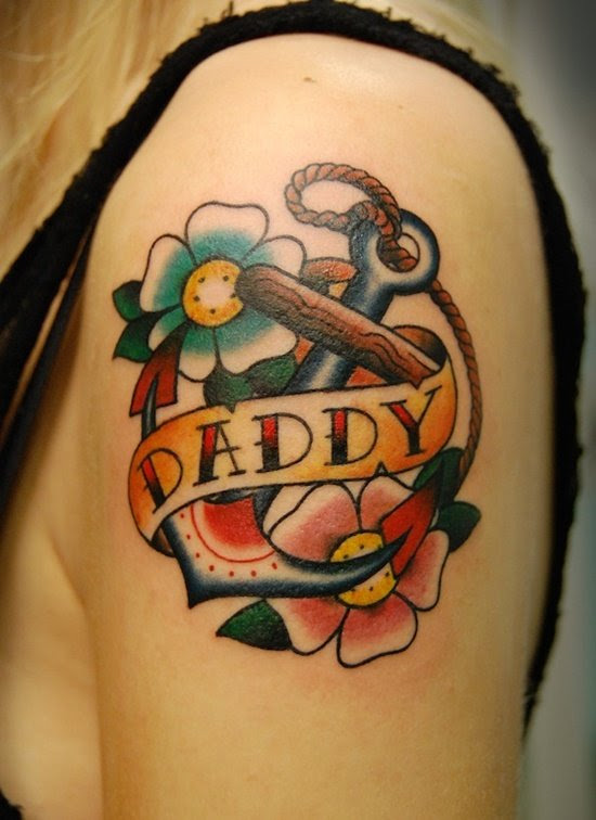 25 Lovely Dad Tattoo Designs