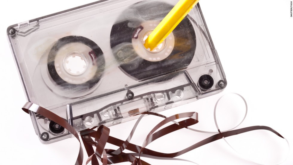 Image result for fixing cassette with pencil