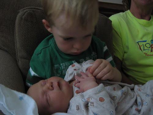 hi baby brother