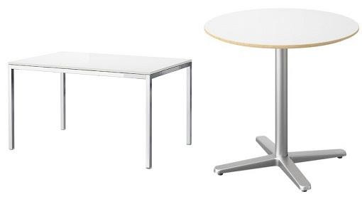 Dormitorio Muebles modernos: Mesas para cocina ikea