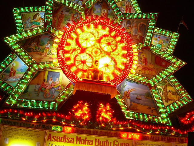 84,000 Light-bulb Giant Pandal