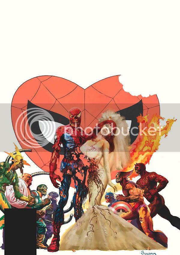 Casamento do Homem-Aranha?