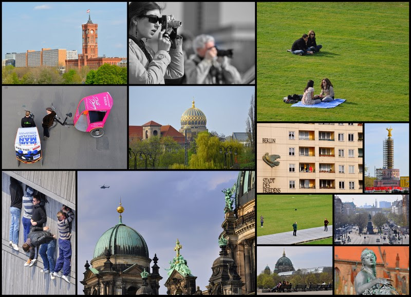 Berlin collage