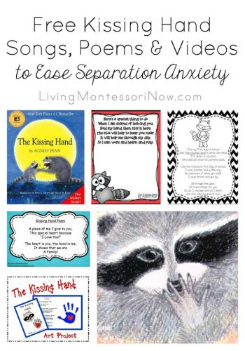 Free Kissing Hand Songs, Poems & Videos to Ease Separation Anxiety