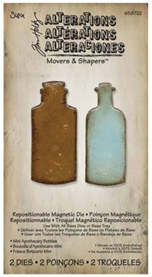 Tim Holtz Movers and Shapers Apothecary Bottles