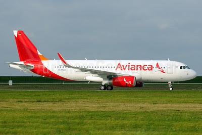 Avianca (Colombia) Airbus A320-233 WL D-AXAS (N603AV) (msn 5840) (Sharklets) XFW (Gerd Beilfuss). Image: 920962.