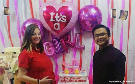 It's a baby girl for Buboy Villar and GF Angillyn Gorens