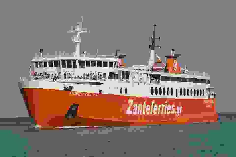 «Ανδρέας Κάλβος»: Από τις 14 Ιανουαρίου στη γραμμή Πάτρα-Σάμη-Ιθάκη
