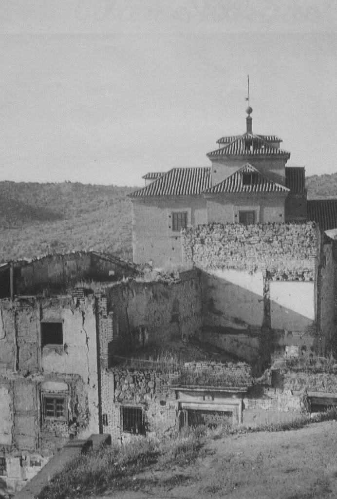 Iglesia de San Miguel a mediados del siglo XX