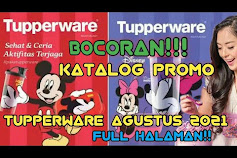 Katalog Tupperware Promo Brosur Agustus 2021
