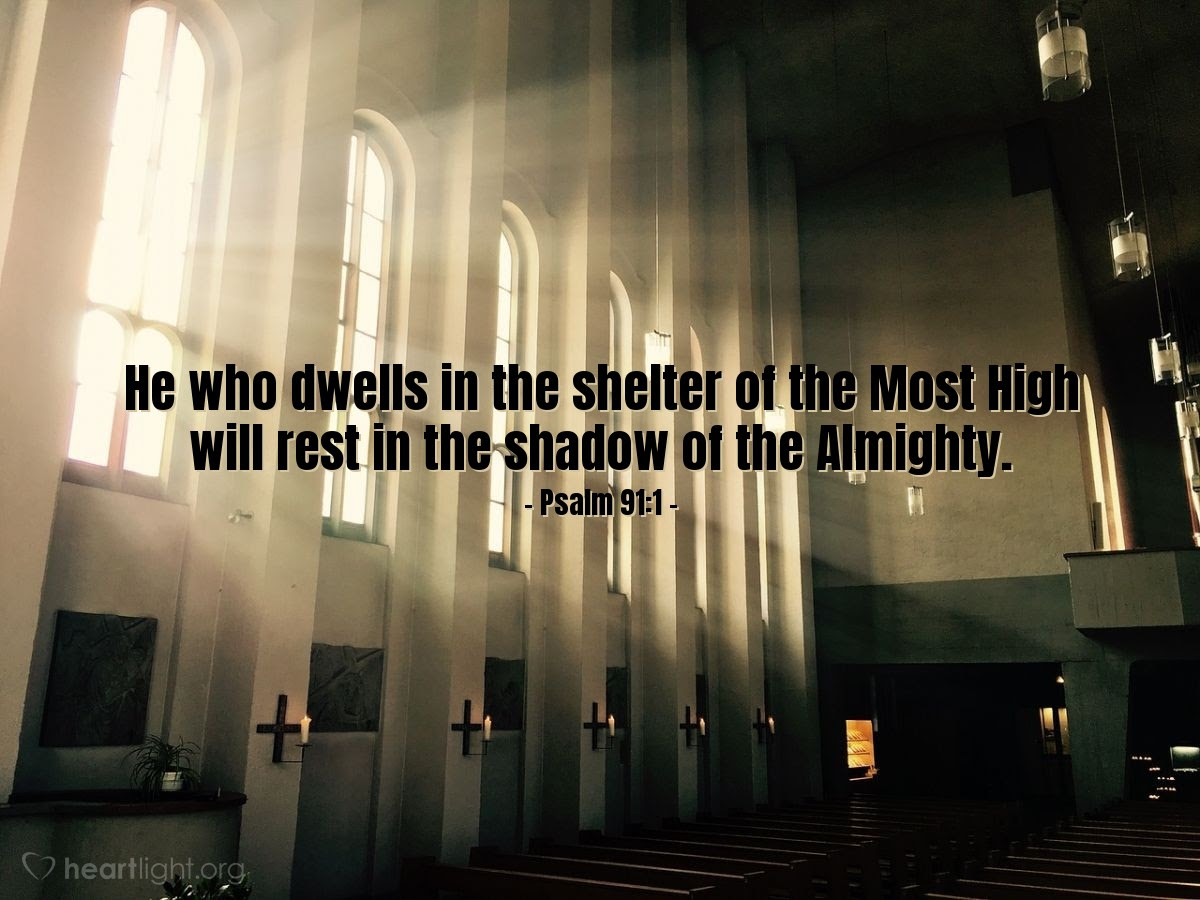 Illustration of Psalm 91:1