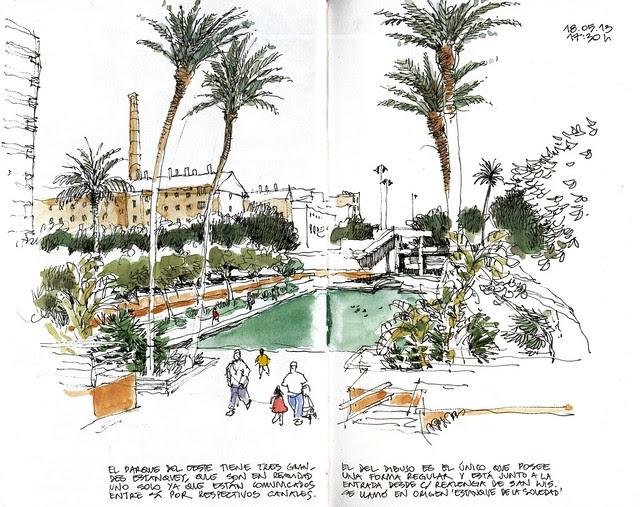 Málaga, Parque del Oeste