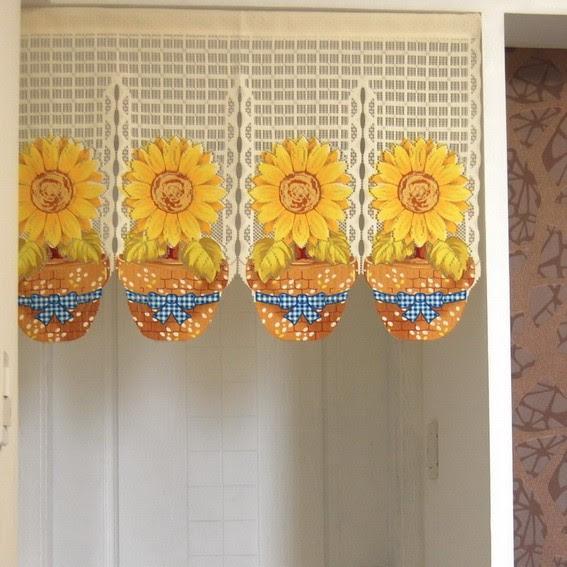 Sunflower Printting Door Curtain D2926   eBay