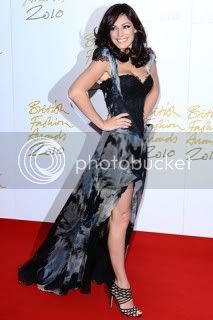 2010 British Fashion Awards Red Carpet
