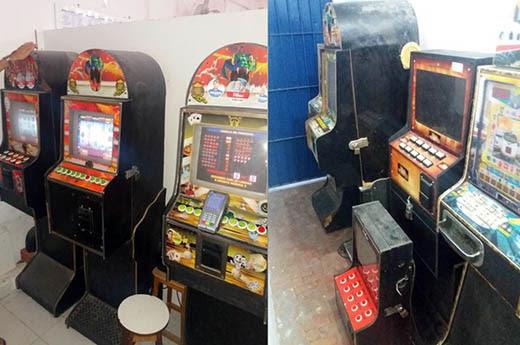 Oito máquinas caça-níqueis foram encontradas em um bar de São Roque (Foto: Divulgação